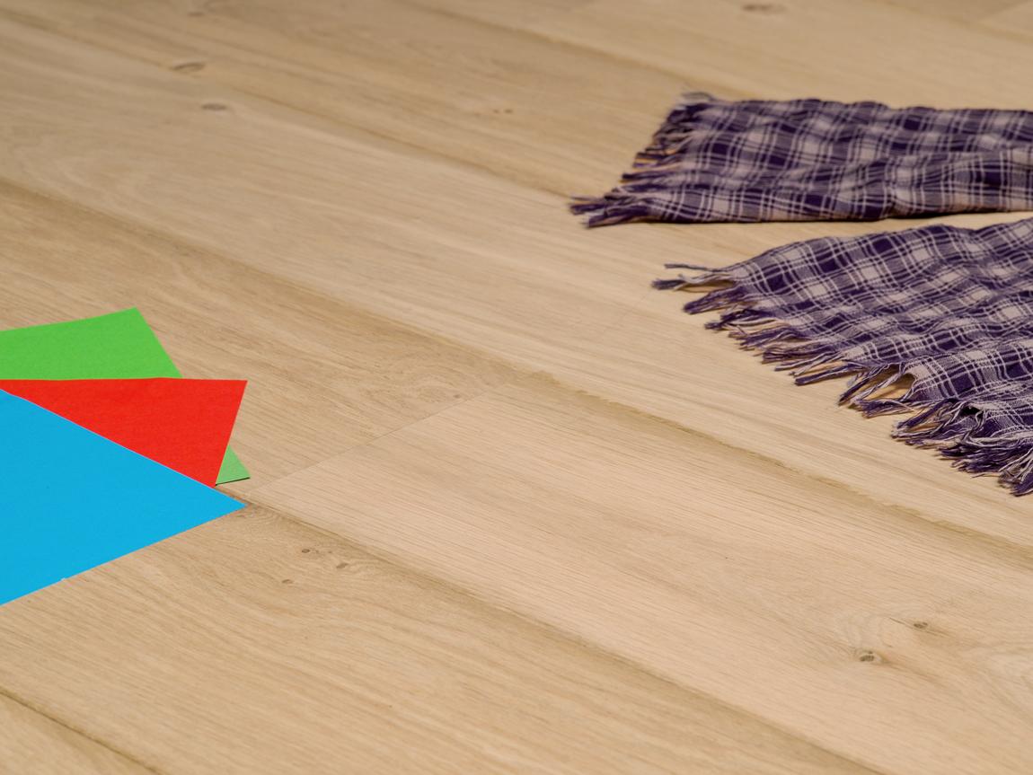 Lamelparket rustiek eiken multiplank vloer onbehandeld cm