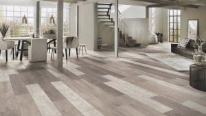Floer-Sloophout-Laminaat-Vloer-Versleten-Planken-Licht welke vloer past bij een retro interieur