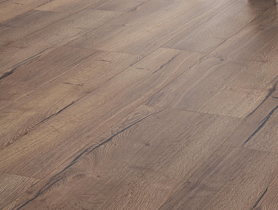 Rustiek Eiken Planken : Landhuis laminaat variatie rustiek bruin eiken vloer twee breed