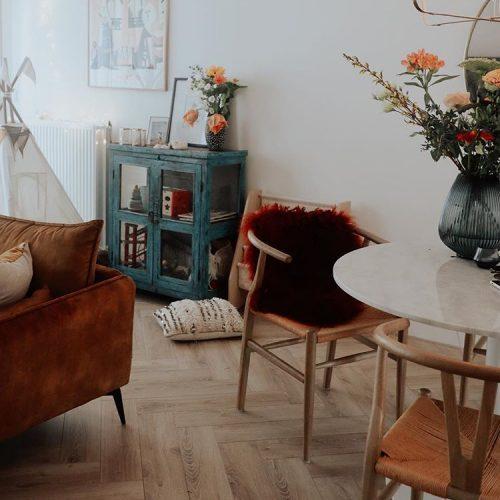 Welke vloer past bij een bohemian interieur?