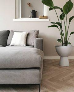 Floer-Visgraat-PVC-Onbehandeld-Eiken-woonkamer-interieur-vloer minimalistisch interieur